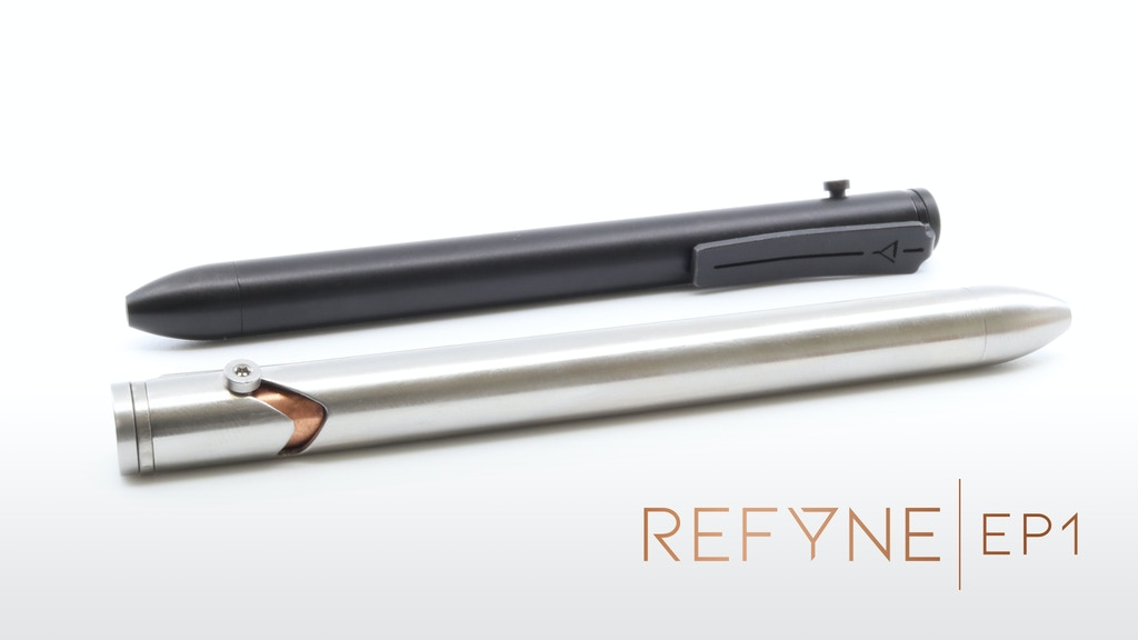 REFYNE - EP1: The Essential EDC Titanium Bolt-Action Pen project video thumbnail