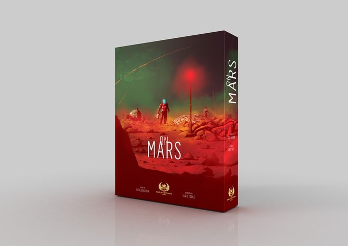 On Mars by Vital Lacerda