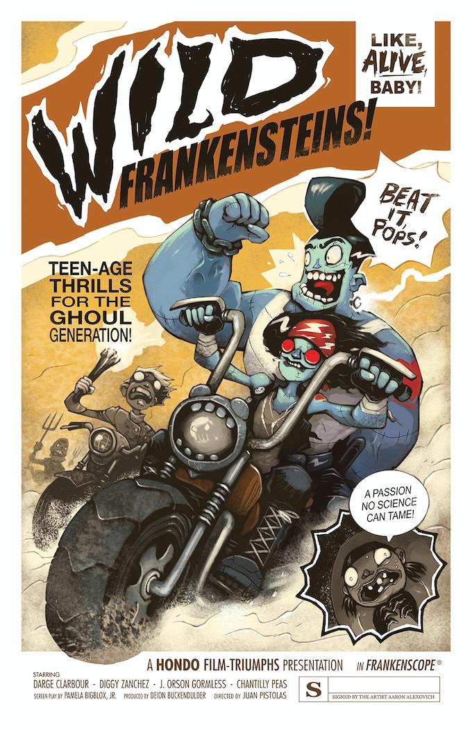 POSTER #1: WILD FRANKENSTEINS!