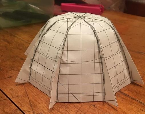 Simple model of the dome cover by Kugi