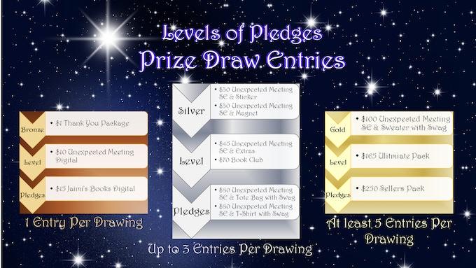 Level of Pledges: Prize Draw Entries