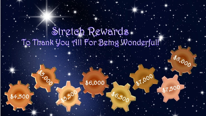 Stretch Rewards To Thank You All For Being Wonderful!