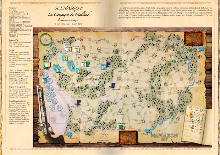 Napoléon 1807 : When the Game Meets History by Shakos » Road to