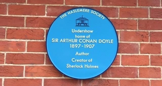 Sir Arhur Conan Doyle wrote many Sherlock Holmes stories at Undershaw