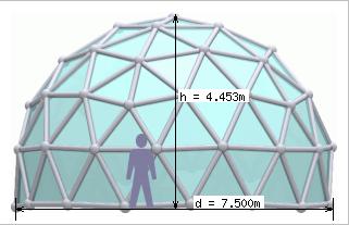 3V 5/9 Icosahedron Dome