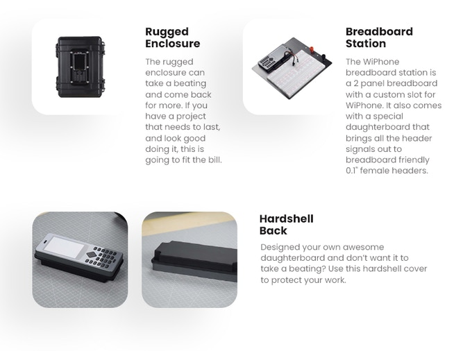 WiPhone, A Phone for Hackers and Makers by HackEDA — Kickstarter