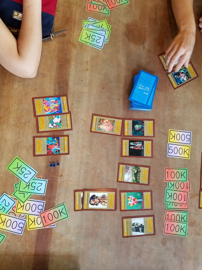 Beta testing for Artworld: The Card Game