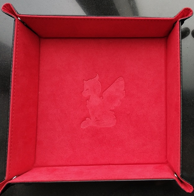 Red Dice Tray