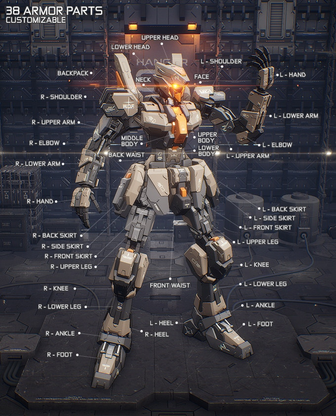 M.A.S.S. Builder, A Fully Customizable Mecha Action Game by ...