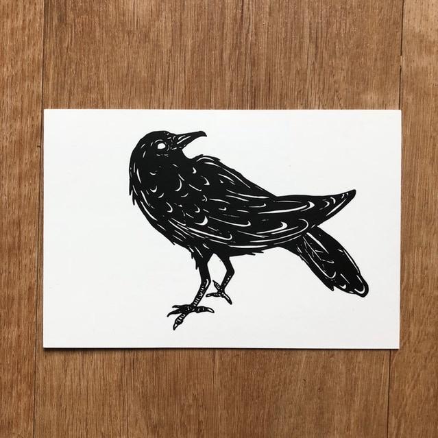 "4x6"" Crow Print"