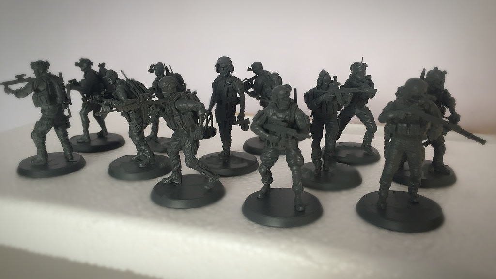 Project image for Soldier of Fortune - Customisable Miniatures (Canceled)