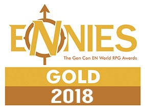 Best Cartography - Gold ENnie - 2018 Awards