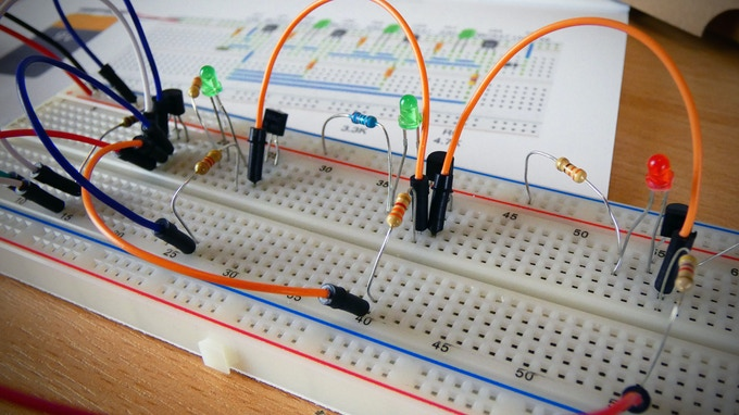 A simple soil moisture indicator circuit