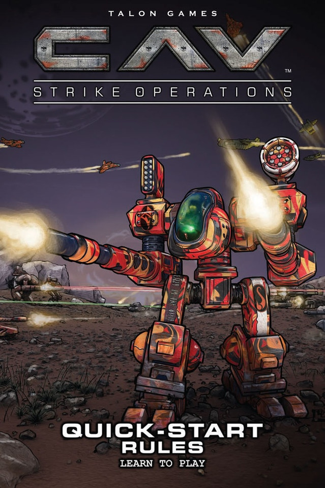 Talon Games CAV: Strike Ops III by CAVBOSS — Kickstarter