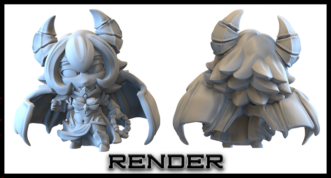 Final Render, yep this is the final pose. :)