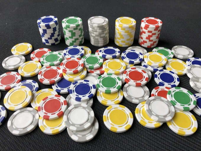 The 200 Poker Chip Set (bag included but not shown)