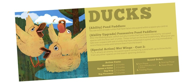They're mean, they're loud, and they're wet. The ducks are comin' in hard with airstrikes and a strong naval force.