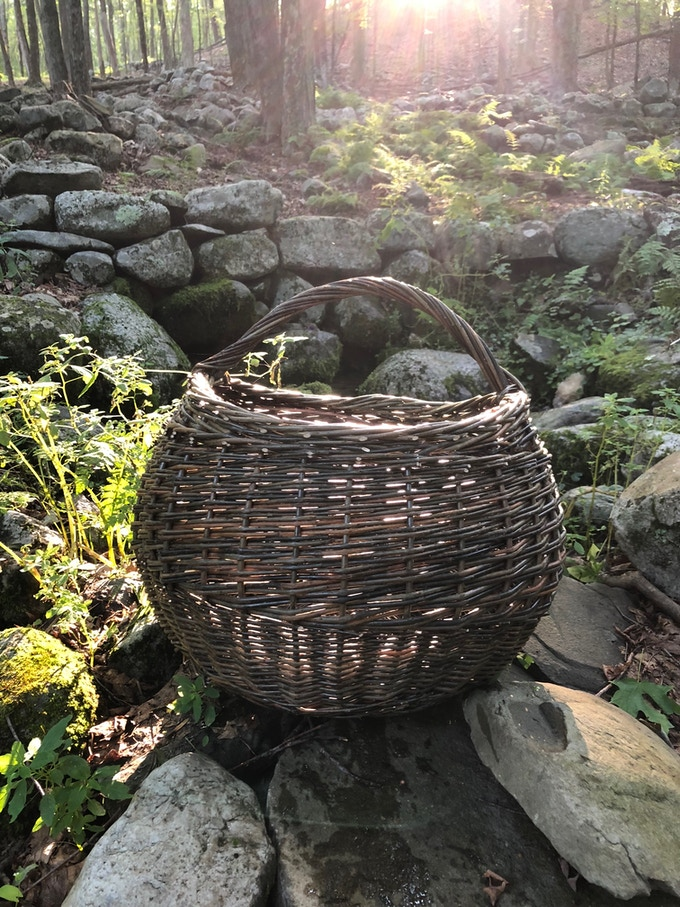 Gathering Basket - backers will have the option to choose a small or larger gathering basket!