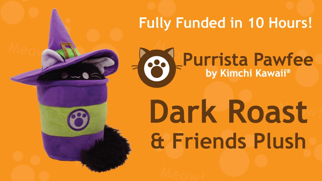 Dark Roast and Friends Plush project video thumbnail