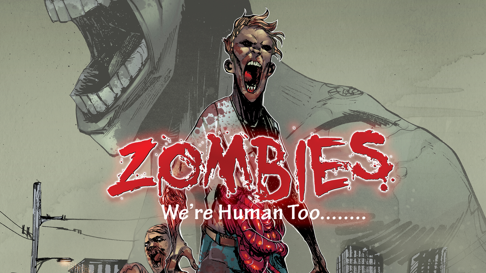 A 100 page Graphic Novel telling stories about zombies before they turned into zombies.