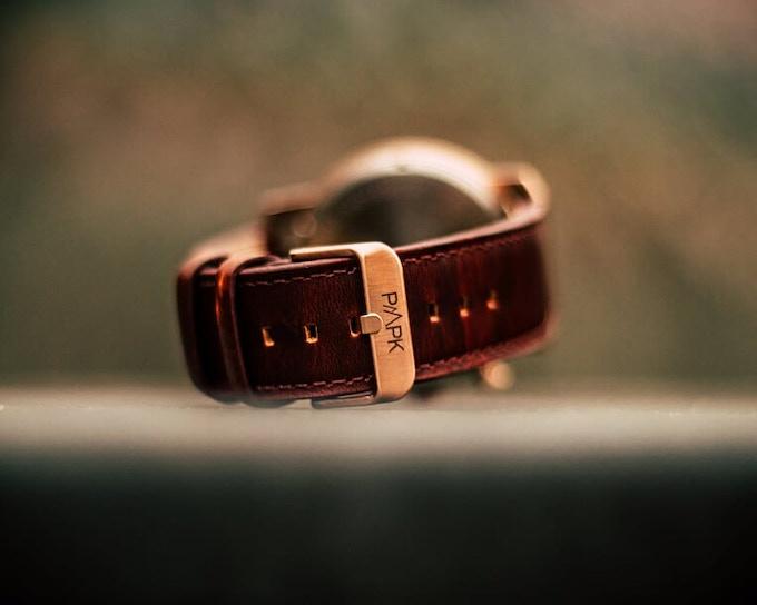 Genuine leather straps
