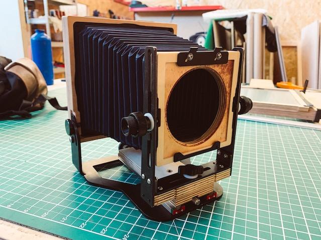 Intrepid 4x5 Enlarger - print & scan 35mm, 120 & 4x5 film by