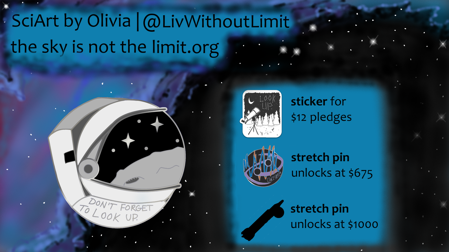 A science-inspired art project, bringing the wonder of space and astronomy to a soft enamel pin