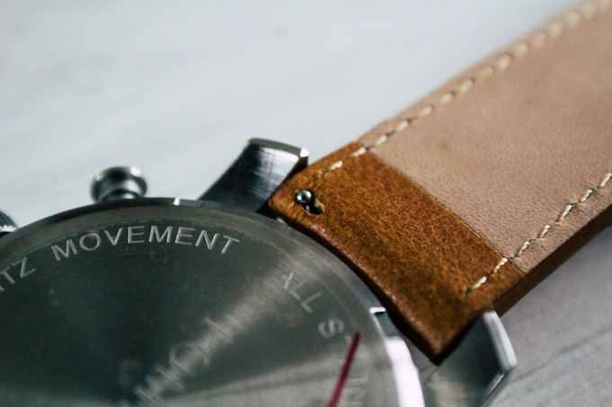 Interchangeable Leather Straps