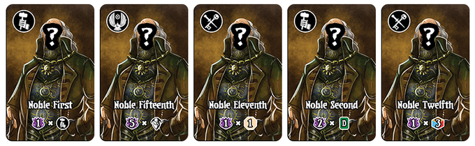 Rescue the Nobles from Amarynth to earn more paths to victory.