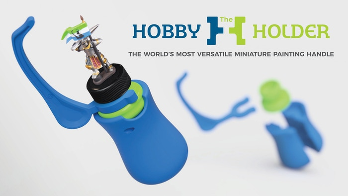 The Hobby Holder, All-in-one Miniature Holder and Grip Is Back and with New Parts Providing Unparalleled Control and Comfort.