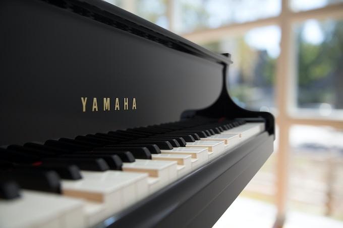 My new piano.  The Yamaha DC7X