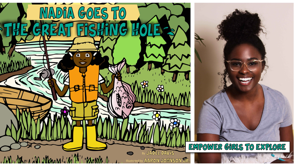 The Great Fishing Hole: A STEM + Art Children's Book project video thumbnail