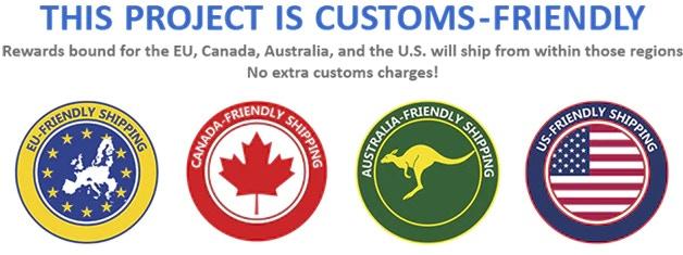 Unlike Trump, we are Customs-Friendly!