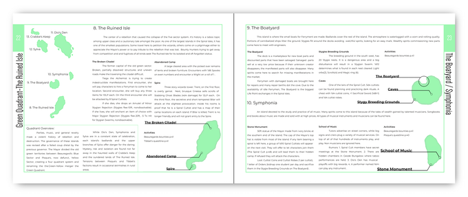 Sample Location Pages