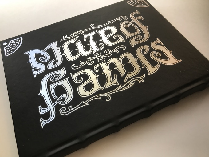 The Gatekeeper's Edition. Created by Elisa Teague and Regent Publishing, ambigram by Scott Kim.