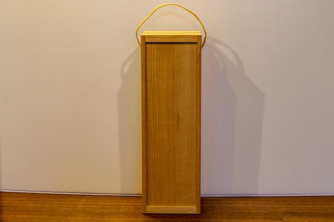 Echizen Tansu Wine Case - Simple ver