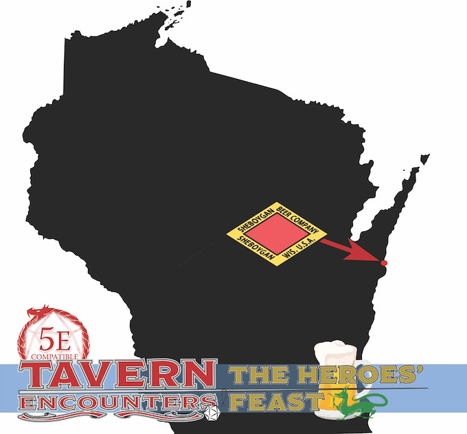 Wisconsin: birthplace of awesome games, awesome beers, awesome people, and awesome Kickstarter projects!