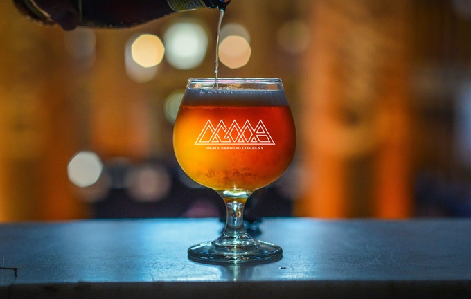 50K Challenge: Ogma Snifter Glass (*Pick-up only at the brewery.)