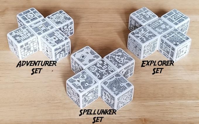 Prior Dungeon & Cavern Sets (Adventurer, Explorer, Spellunker)
