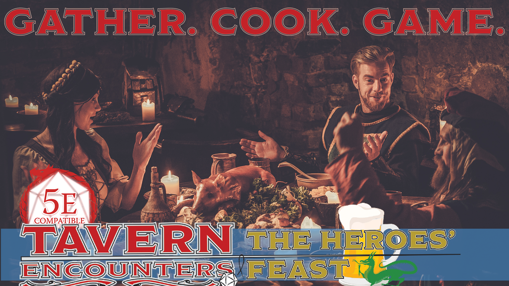 Tavern Encounters: The Heroes' Feast project video thumbnail