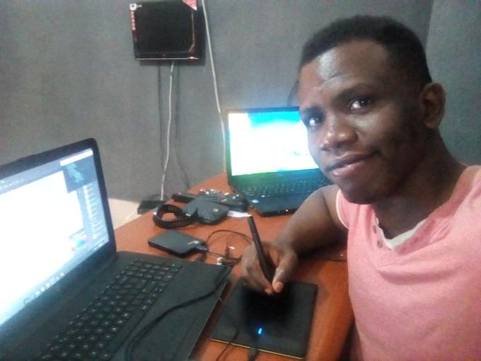 Stanley Obende | Line Artist and Art Director of JEMBER & HAWI