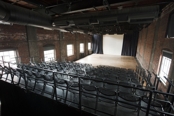 The theater at Christ Church Neighborhood House, on the historic grounds of Christ Church in Old City, Philadelphia.