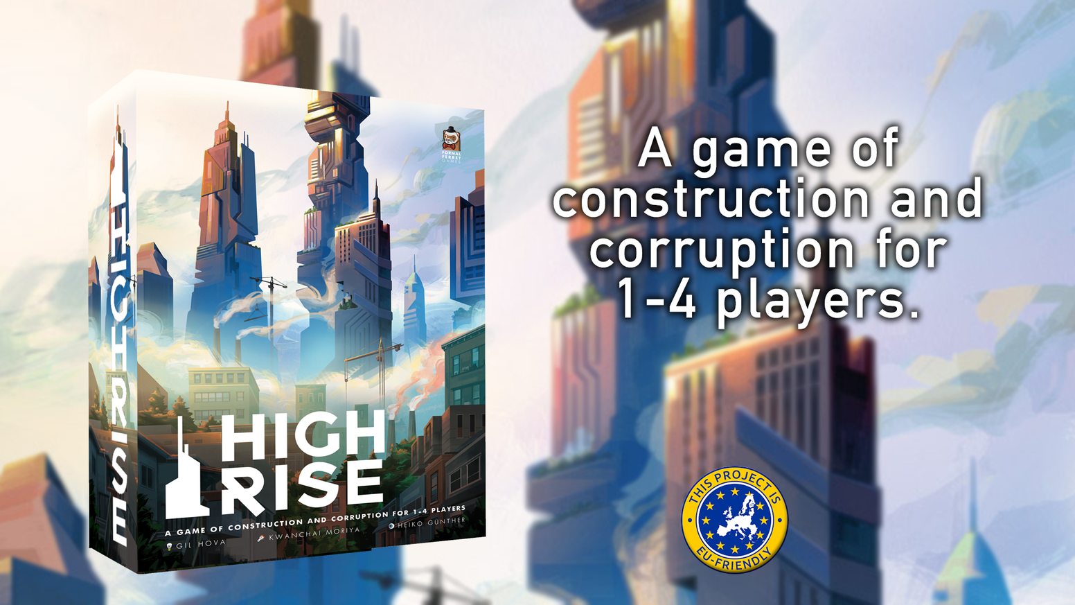 A game of construction and corruption for 1-4 players.