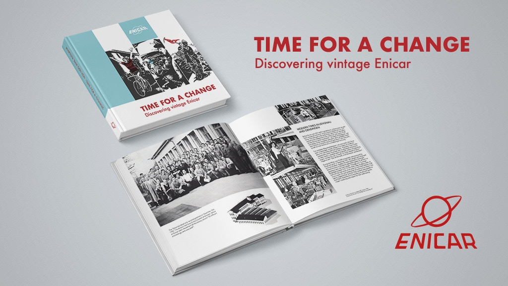 Time for a change: a book about the lost watch brand Enicar project video thumbnail