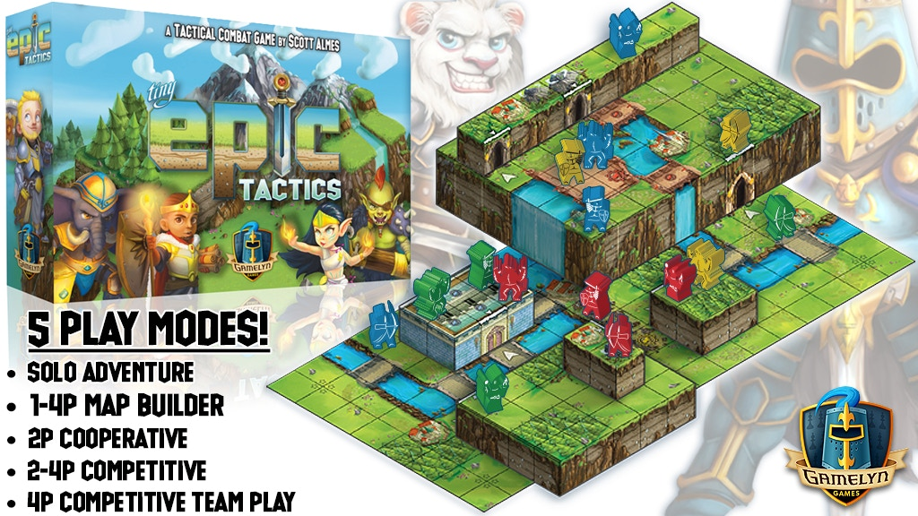 Tiny Epic Tactics - Featuring a 3D Environment project video thumbnail