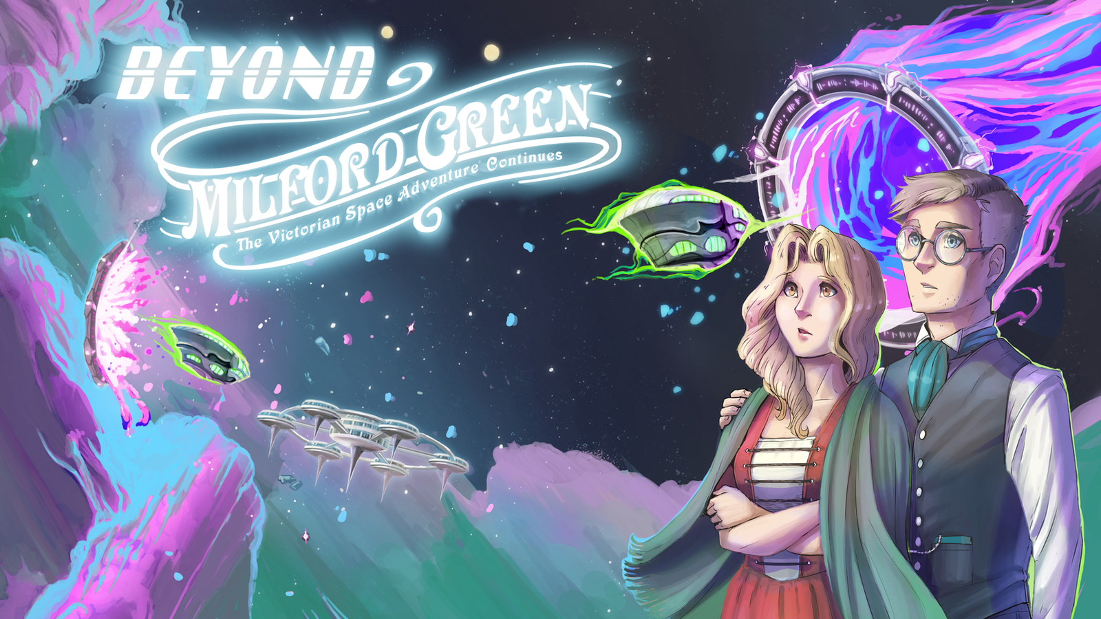 Beyond Milford Green | A Victorian Space Adventure Comic