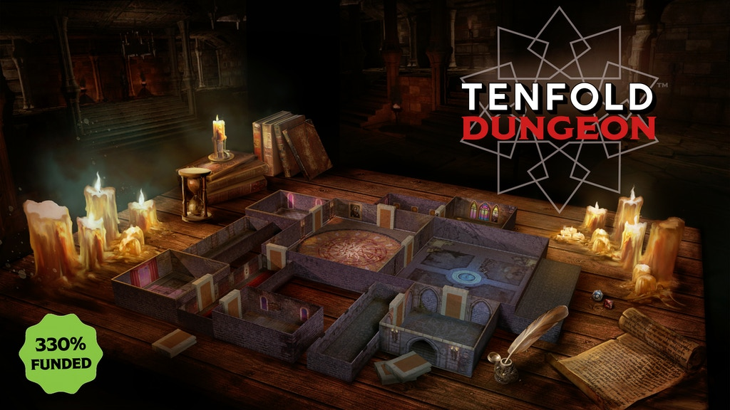 Tenfold Dungeon - Modular Dungeon Crawling Terrain project video thumbnail