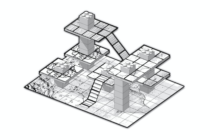 An example of a constructed dungeon