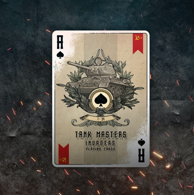 Ace Of Spades Invaders Deck