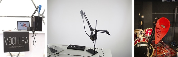 Our first working Dubler Microphone prototype — by this stage we had separate software offering.